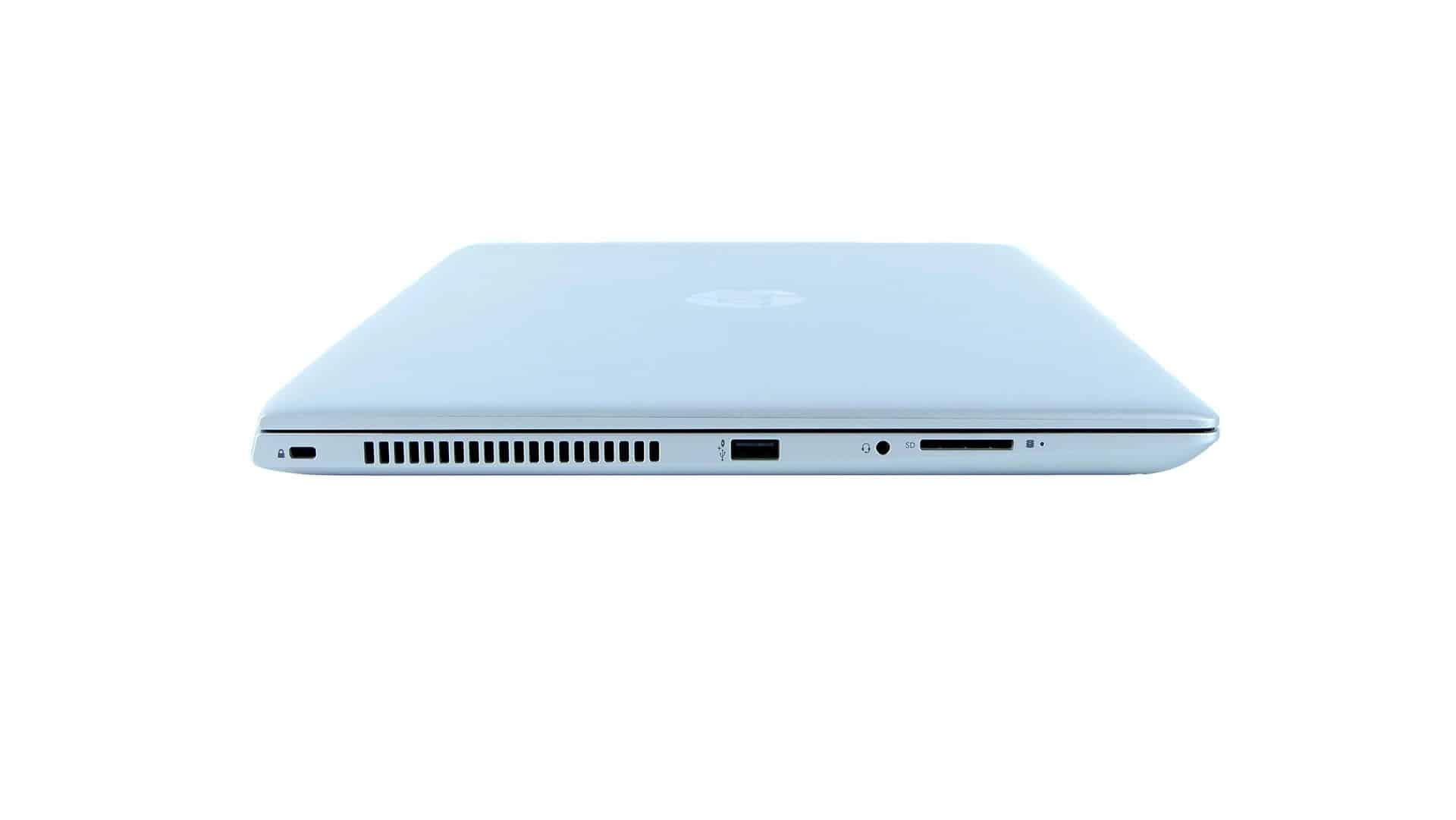 HP ProBook 450 G5 - porty nalewym boku