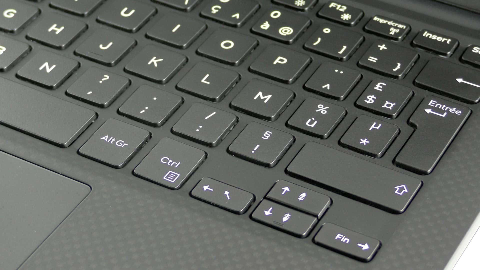 Dell XPS 13 9360 - klawiatura