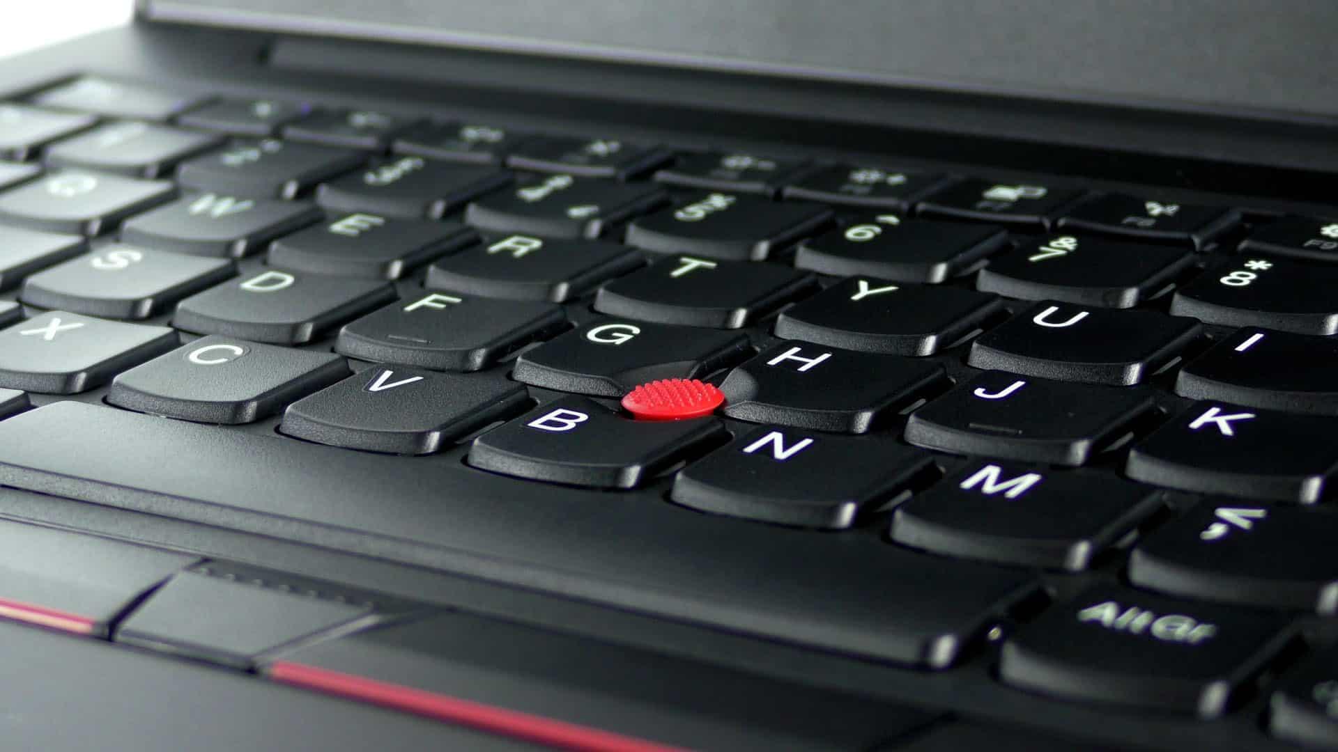 Lenovo ThinkPad E480 - trackpoint