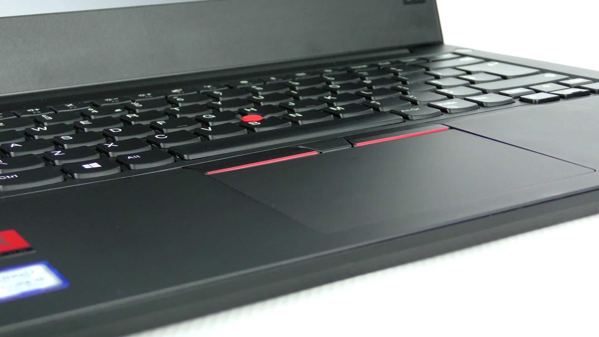 Lenovo ThinkPad E480 - touchpad