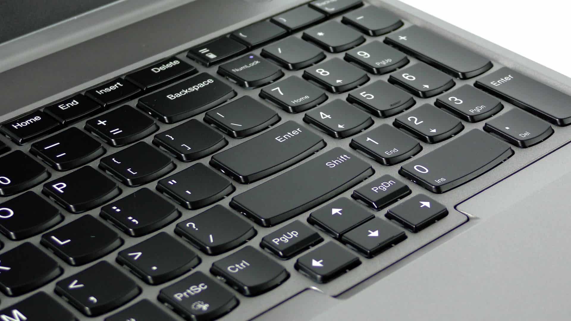 Lenovo ThinkPad E580 - klawiatura z blokiem numerycznym