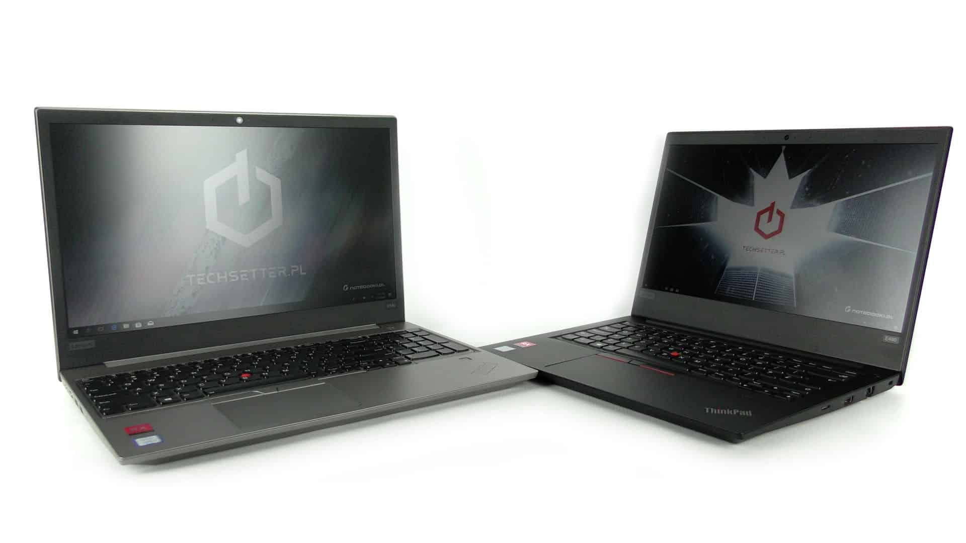 Lenovo ThinkPad E480 oraz E580