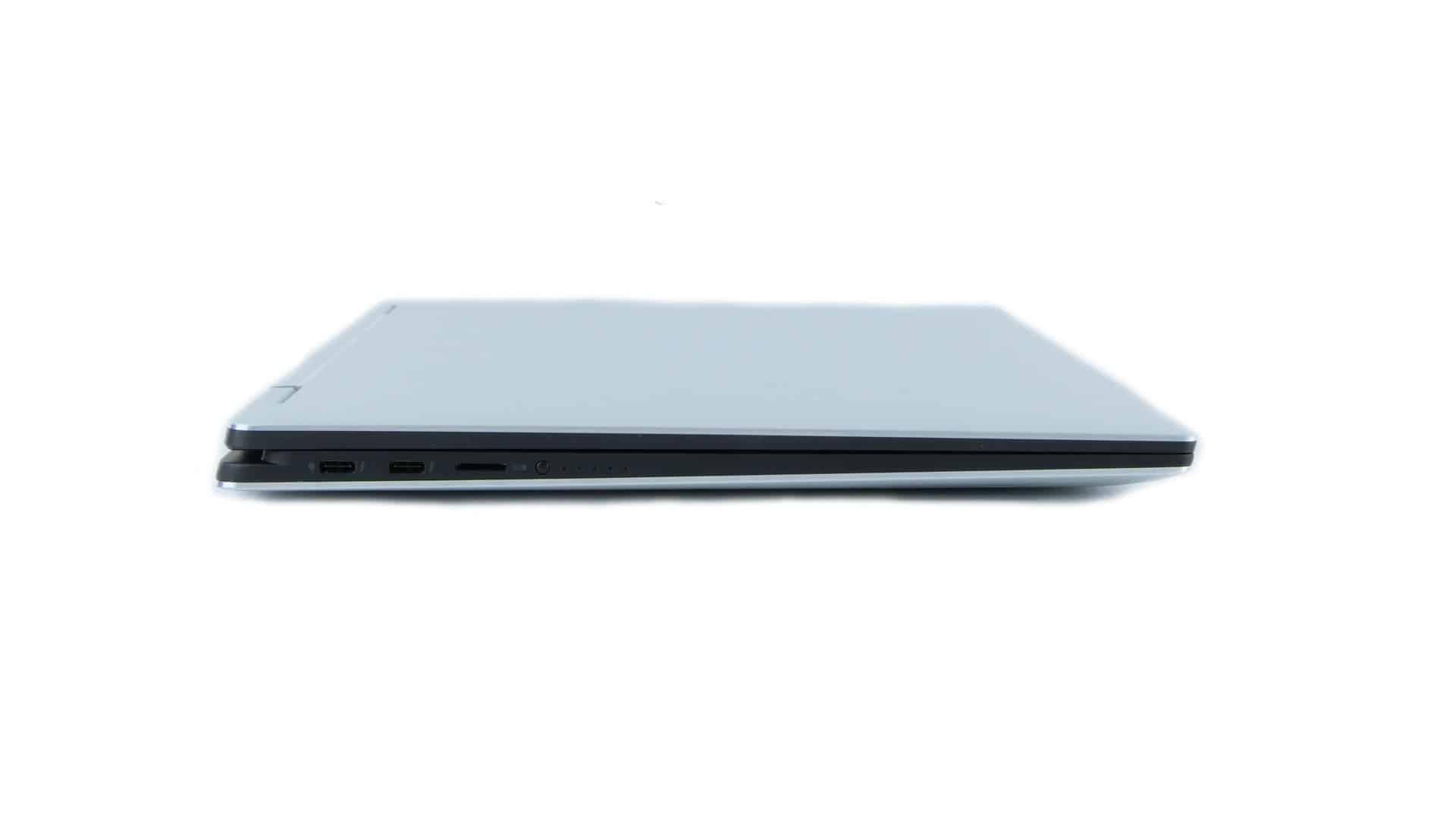 Dell XPS 15 9575 2 w1 - porty naboku lewym