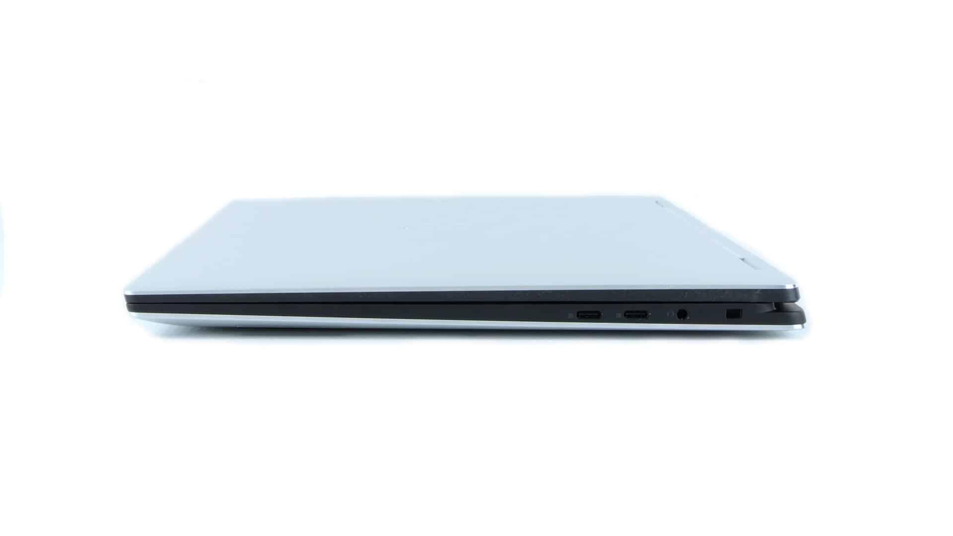 Dell XPS 15 9575 2 w 1 - porty na boku prawym