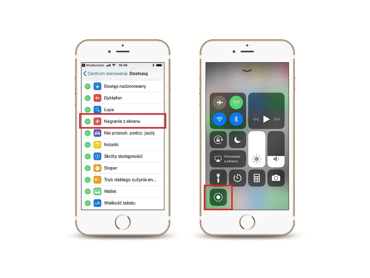 Nagrywanie ekranu. Jedna znajbardziej przydatnych funkcji iOS 11.