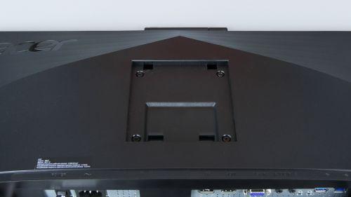 Acer B277 D - gniazda VESA 100 x 100 mm