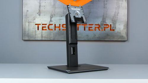Acer B277 D - podstawa jest niemała idość masywna