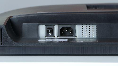 Acer B277 D - wbudowany zasilacz