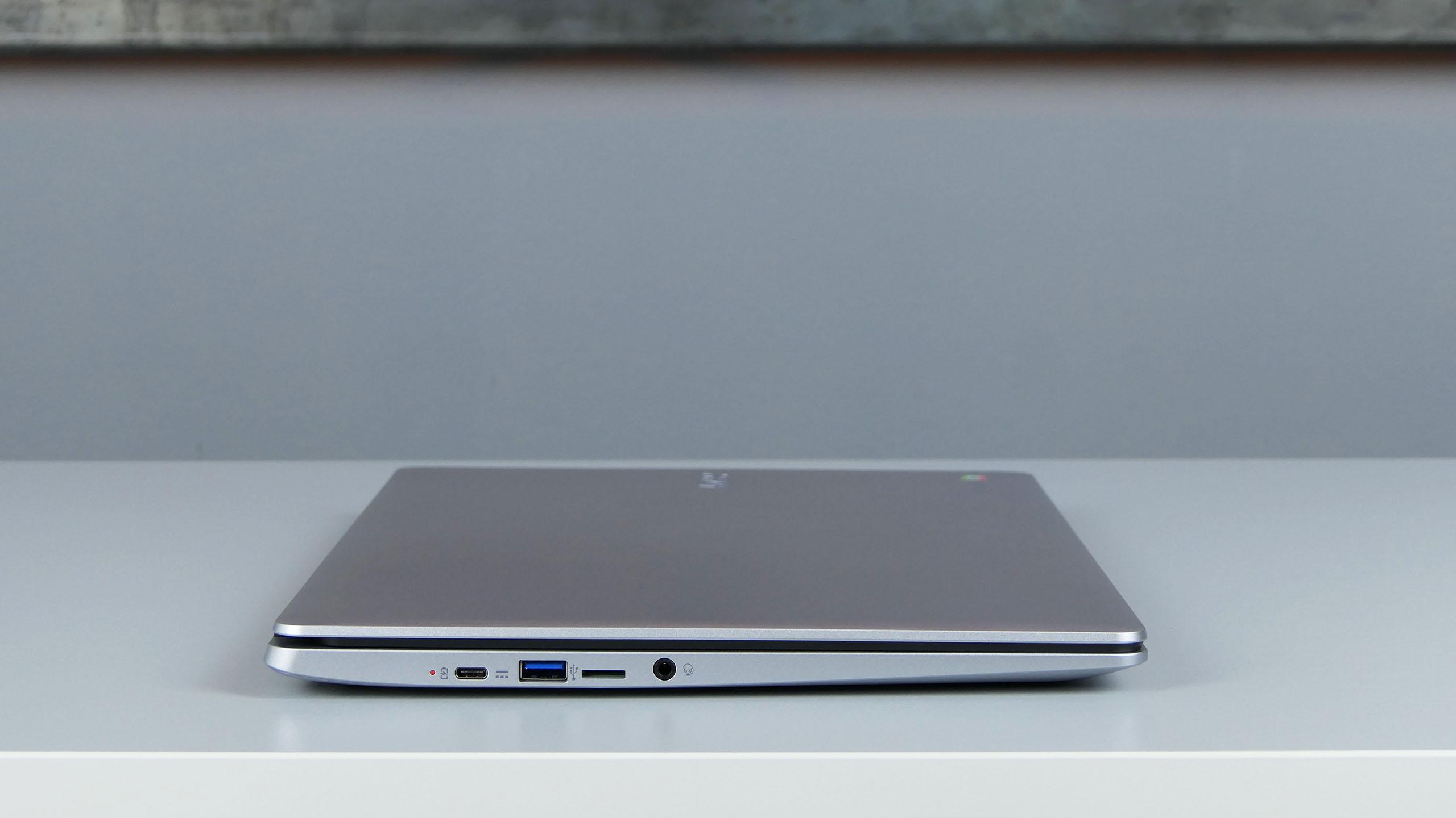 Acer Chromebook 315 - gniazda zlewej strony