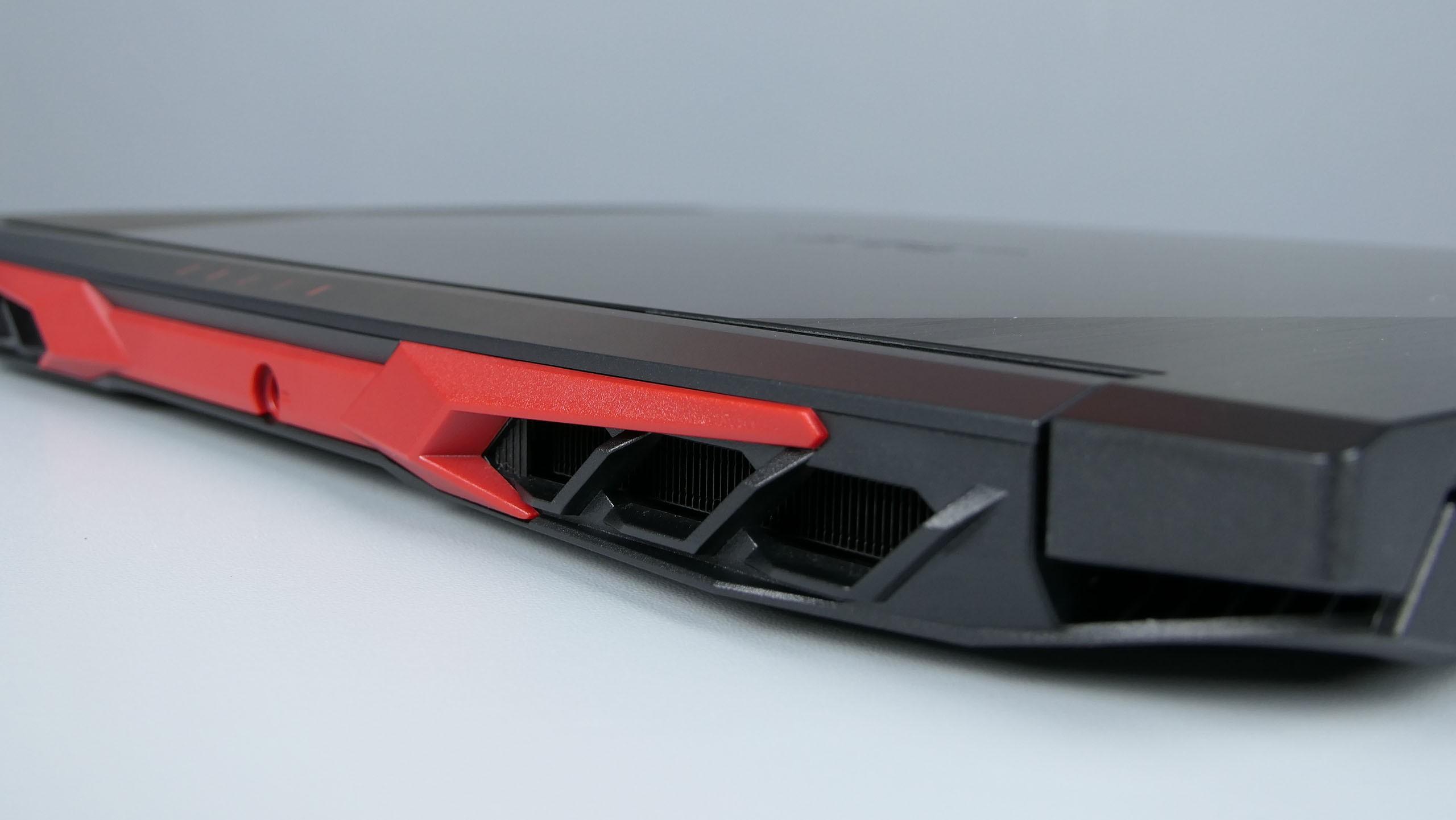Acer Nitro 5 2020 - dysze układy chłodzenia