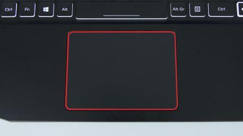 Acer Nitro 5 2020 - touchpad