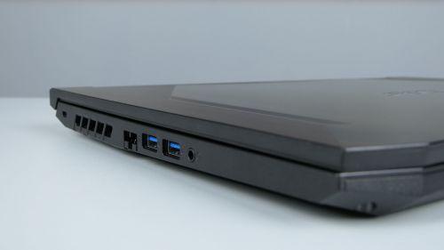 Acer Nitro 5 2020 - LAN, dwa USB typu Aigniazdo audio