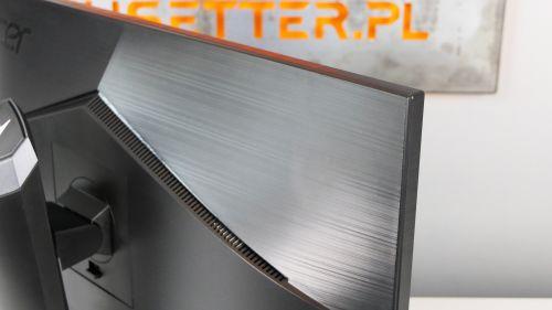 Acer Predator XB3 (XB273U) - mmmm szczotkowany meta... znaczy - plastik