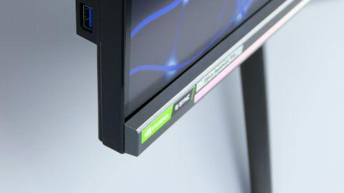 Acer Predator XB3 (XB273U) - ramka zeświecącymi LED-ami
