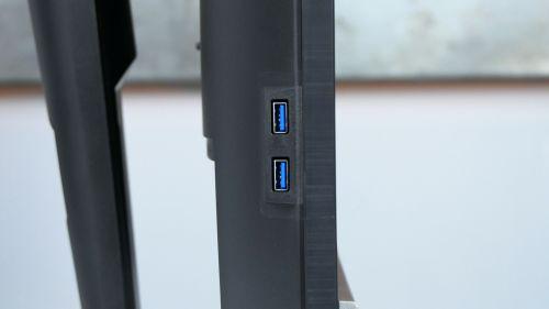 Acer Predator XB3 (XB273U) -hub USB 3.0 nalewym boku