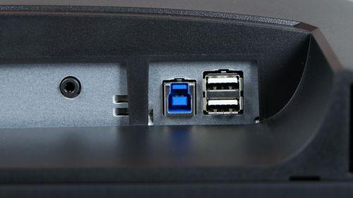 Acer Predator XB3 (XB273U) - hub USB
