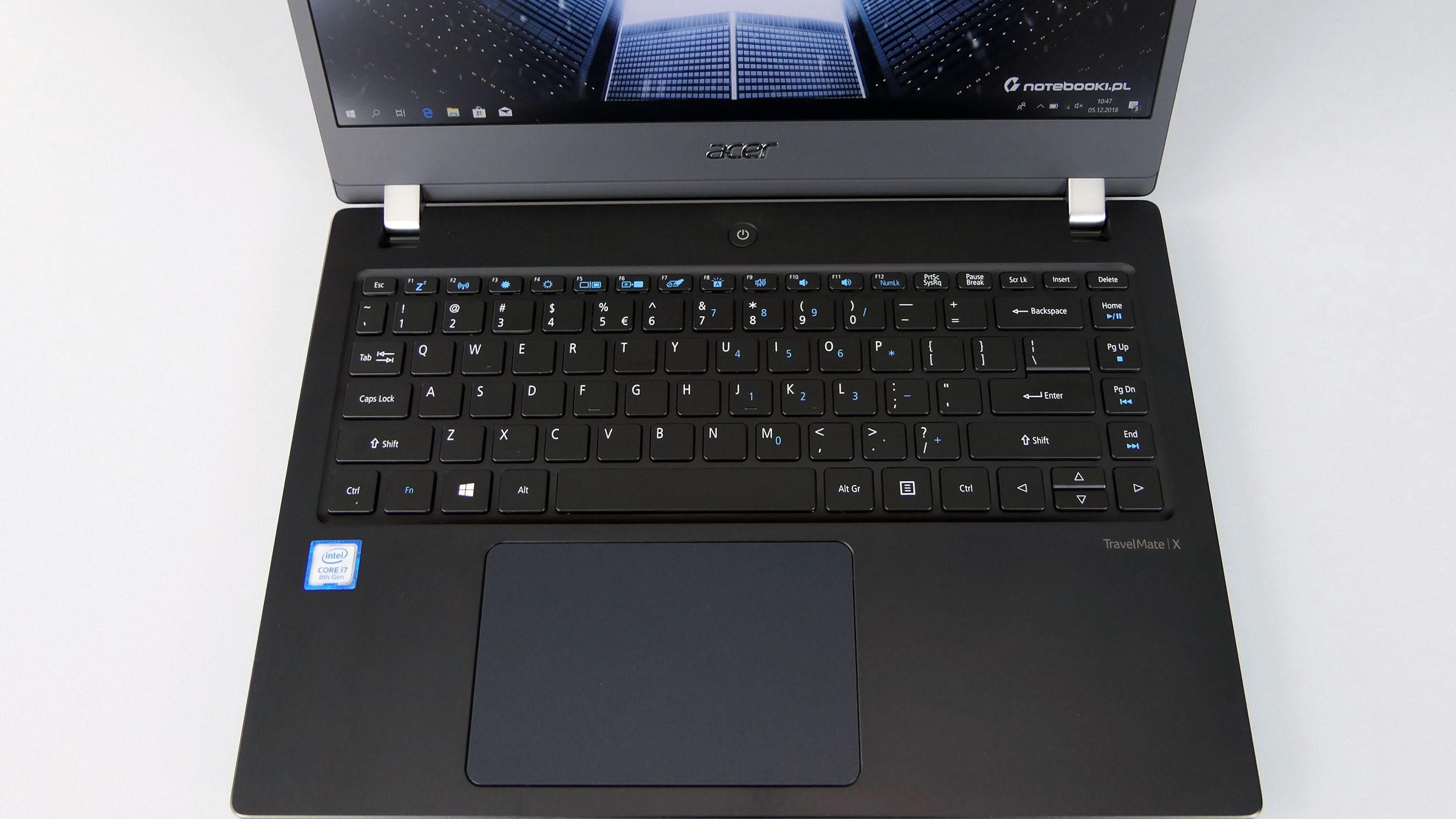 Acer TravelMate X3410 - pulpit roboczy