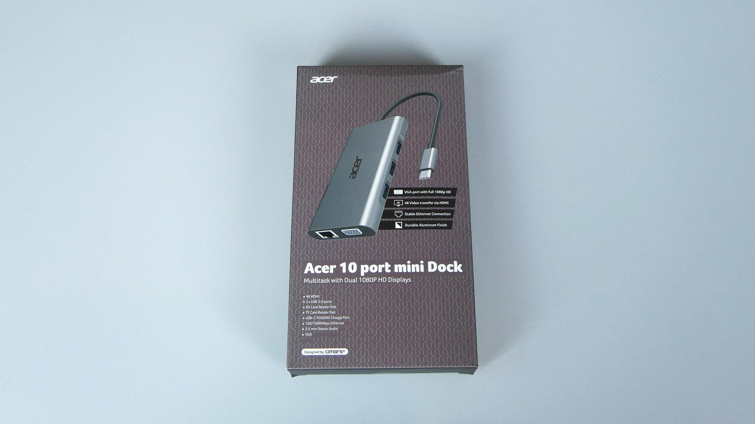 Acer 10 Ports Mini Dock