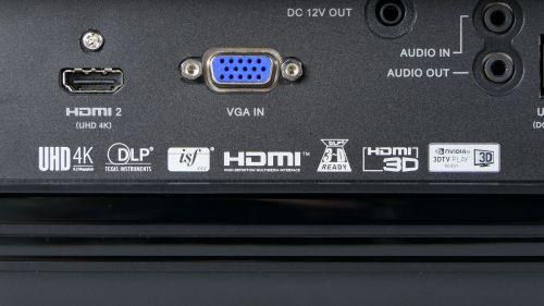 Acer V6820i - dostępne porty i gniazda