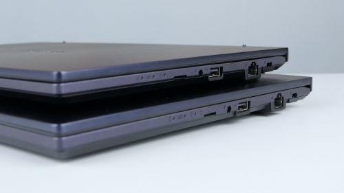 """Na prawy bok trafiła """"erjotka"""", USB 2.0, złącze audio orazczytnik kart microSD"""