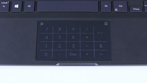 Touchpad zB1400C zwłączonym NumPadem
