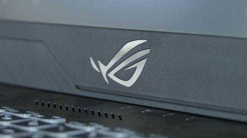 Asus ROG Strix Scar II GL704 - dolna krawędź ekranu