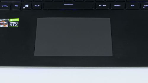 Asus ROG Strix SCAR 17 G733 - touchpad