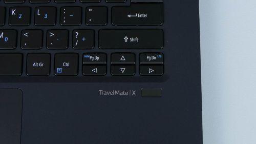 Czytnik linii papilarnych - Acer TravelMate X5