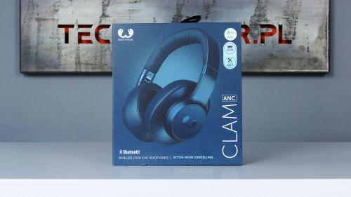 Słuchawki Clam ANC i ich eleganckie pudełko