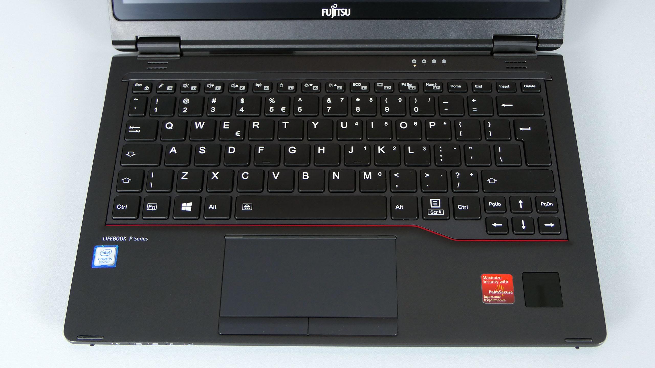 Fujitsu LifeBook P728 - pulpit roboczy
