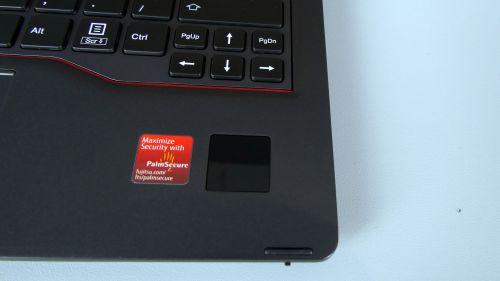 Fujitsu LifeBook P728 - skaner biometryczny PalmSecure