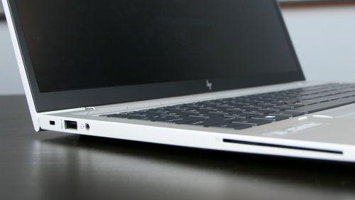 HP EliteBook 855 G7 - lewy bok