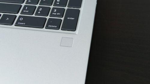HP EliteBook 855 G7 - czytnik linii papilarnych
