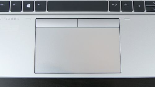 HP EliteBook 855 G7 - touchpad zeszklaną płytką