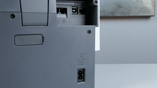 HP OfficeJet Pro 9010 - gniazda natyle