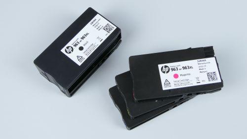 HP OfficeJet Pro 9010 - kartridże HP 963