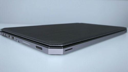 HP ZBook x2 G4 - czytnik linii papilarnych