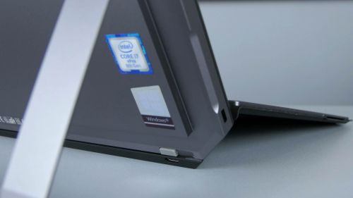 HP ZBook x2 G4 i jego podpórka