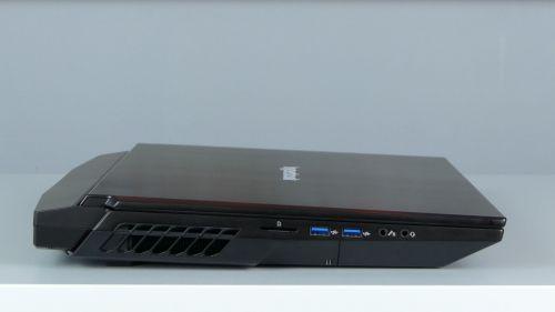 Hyperbook GTR - porty naboku lewym