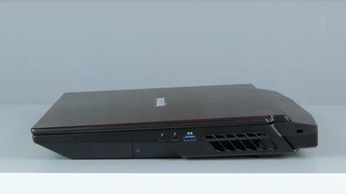 Hyperbook GTR - porty naboku prawym