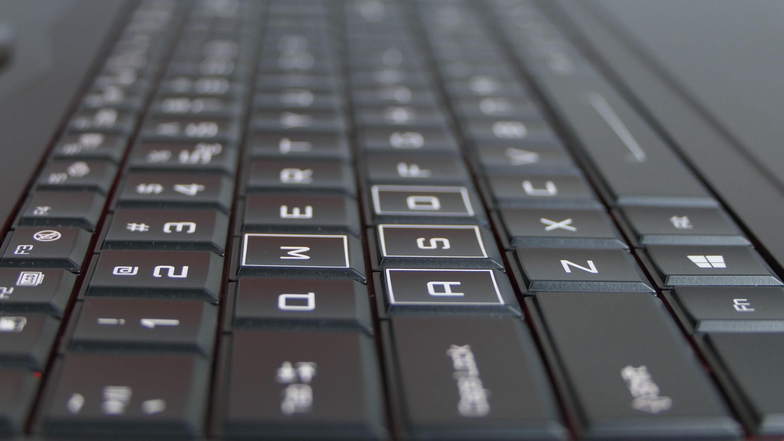 Hyperbook X77 - klawiatura