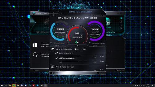 Control Center - GPU Overclock