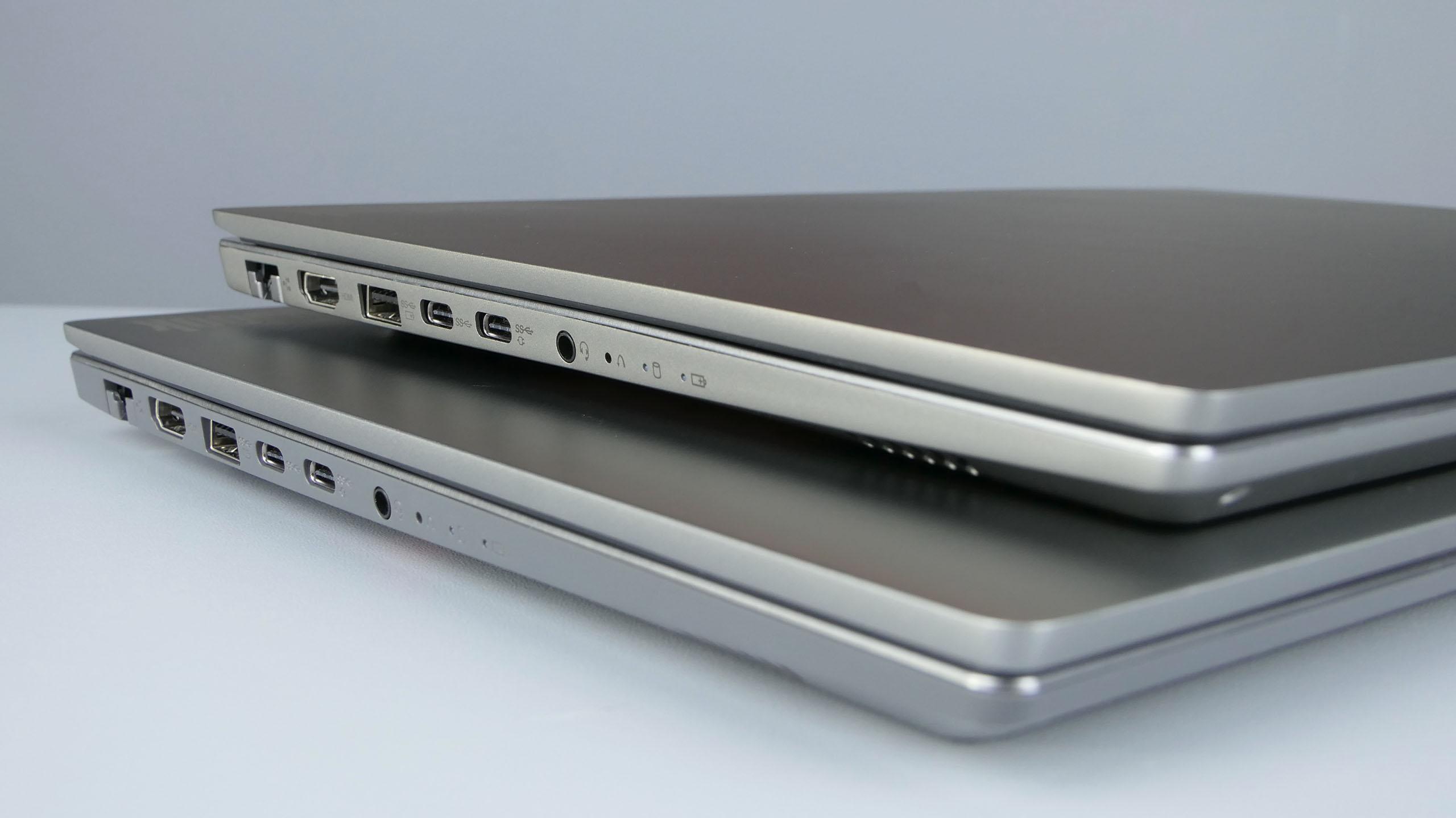 Lenovo ThinkBook 14 i15 - porty polewej stronie