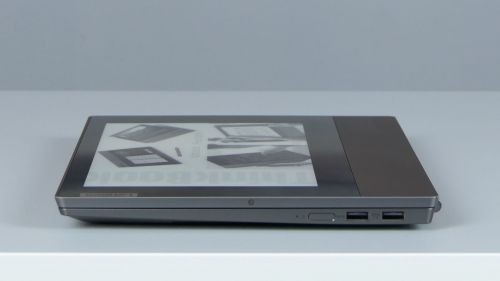 Lenovo ThinkBook Plus - porty naboku prawym