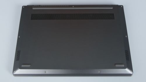 Lenovo ThinkBook Plus - spód ultrabooka