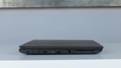 Lenovo ThinkPad L580 - porty na boku lewym