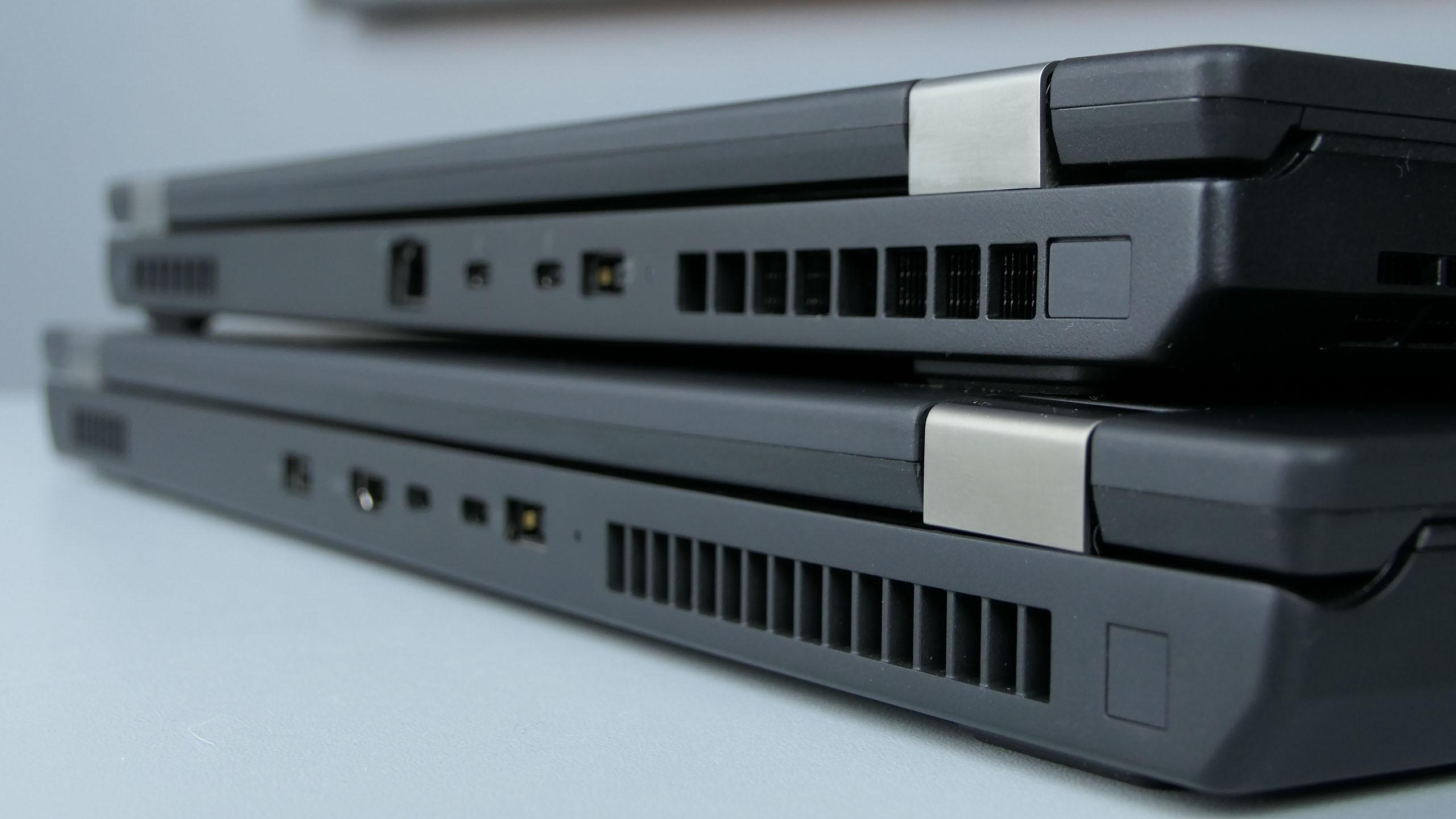 Lenovo ThinkPad P53 iP73 - porty natyle