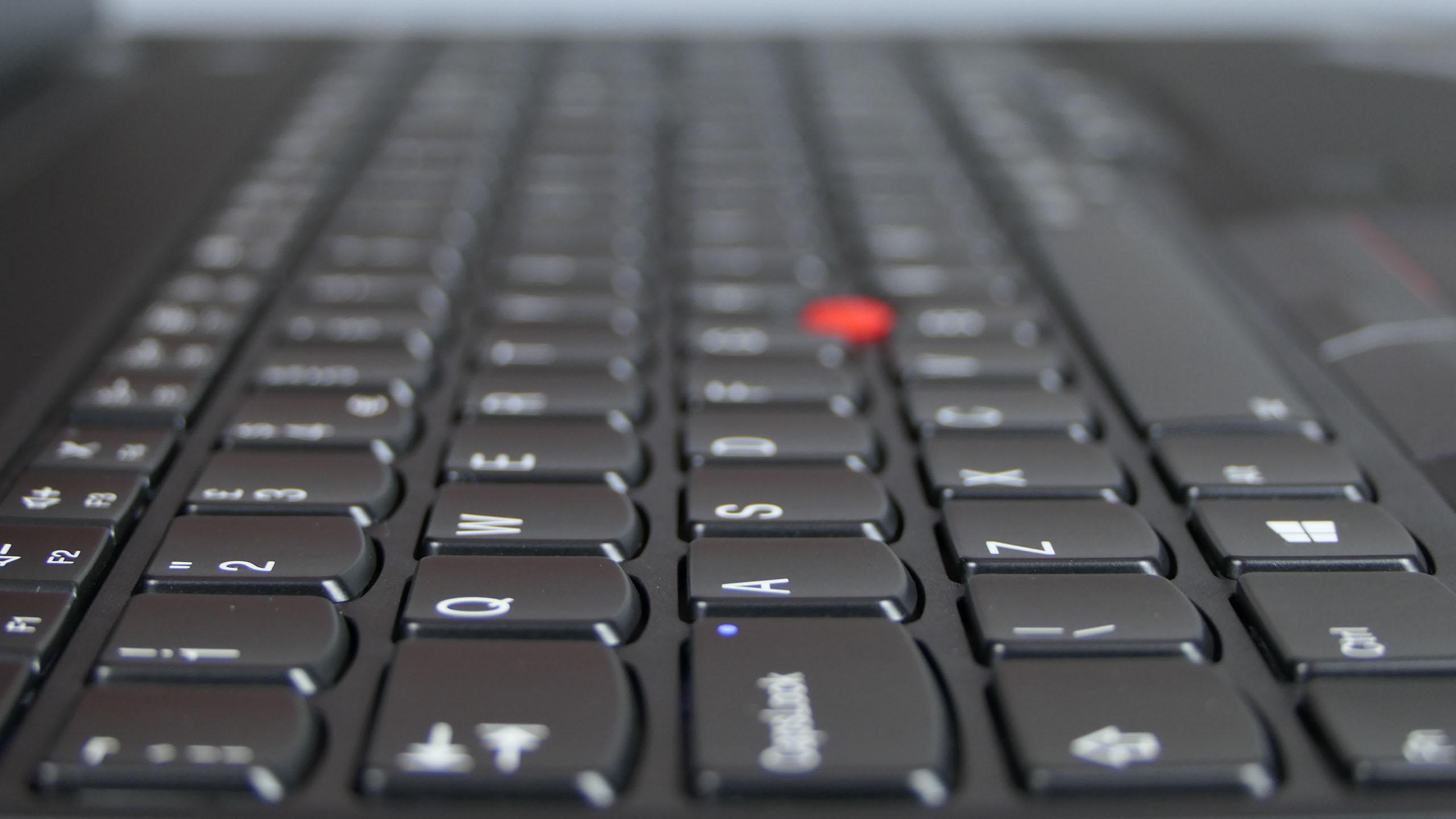 Lenovo ThinkPad P53s - klawiatura wyspowa