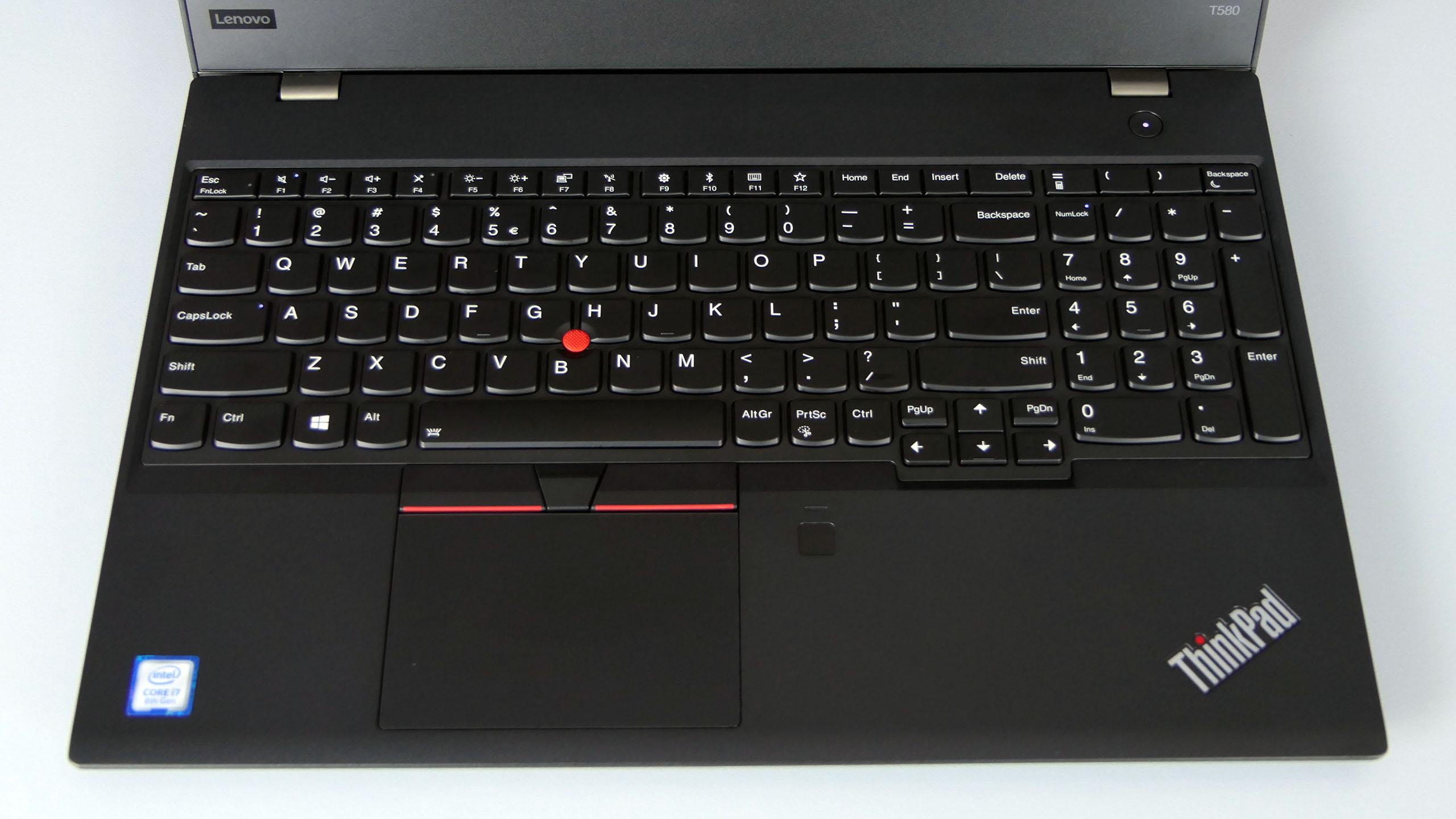 Lenovo ThinkPad T580 - pulpit roboczy