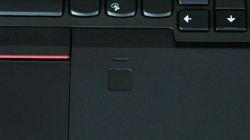 Lenovo ThinkPad T580 - czytnik linii papilarnych